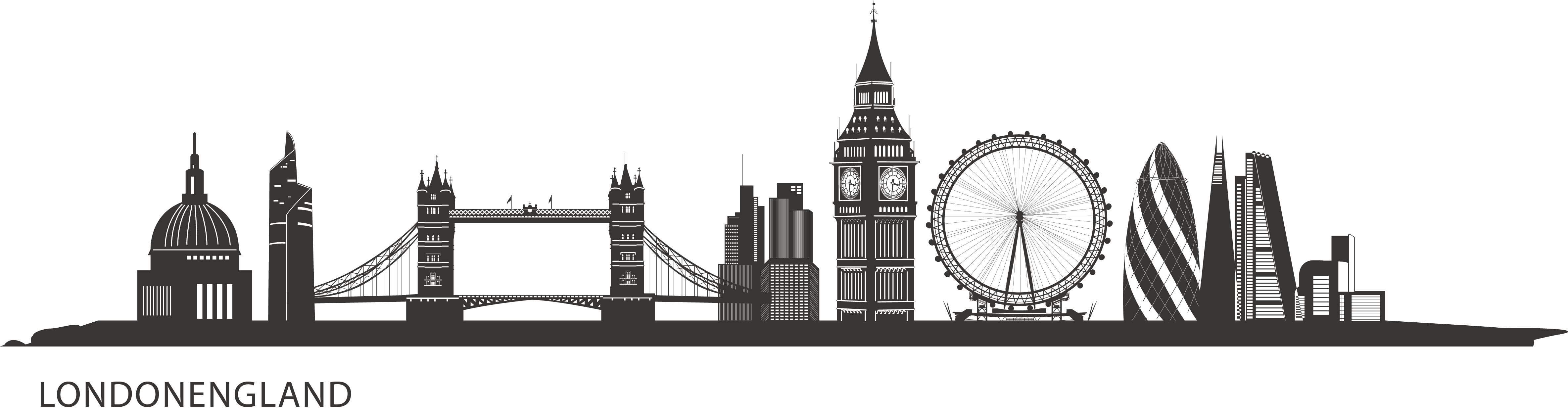 london skyline png