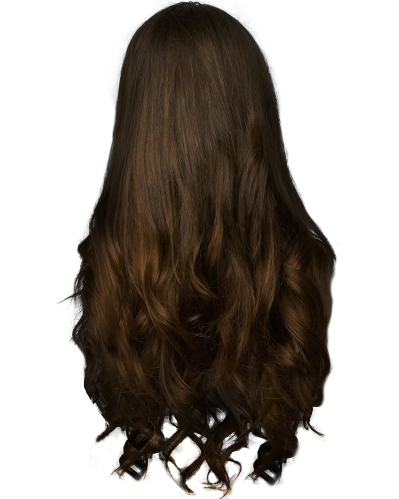 Long brown hair png. By paradise d m