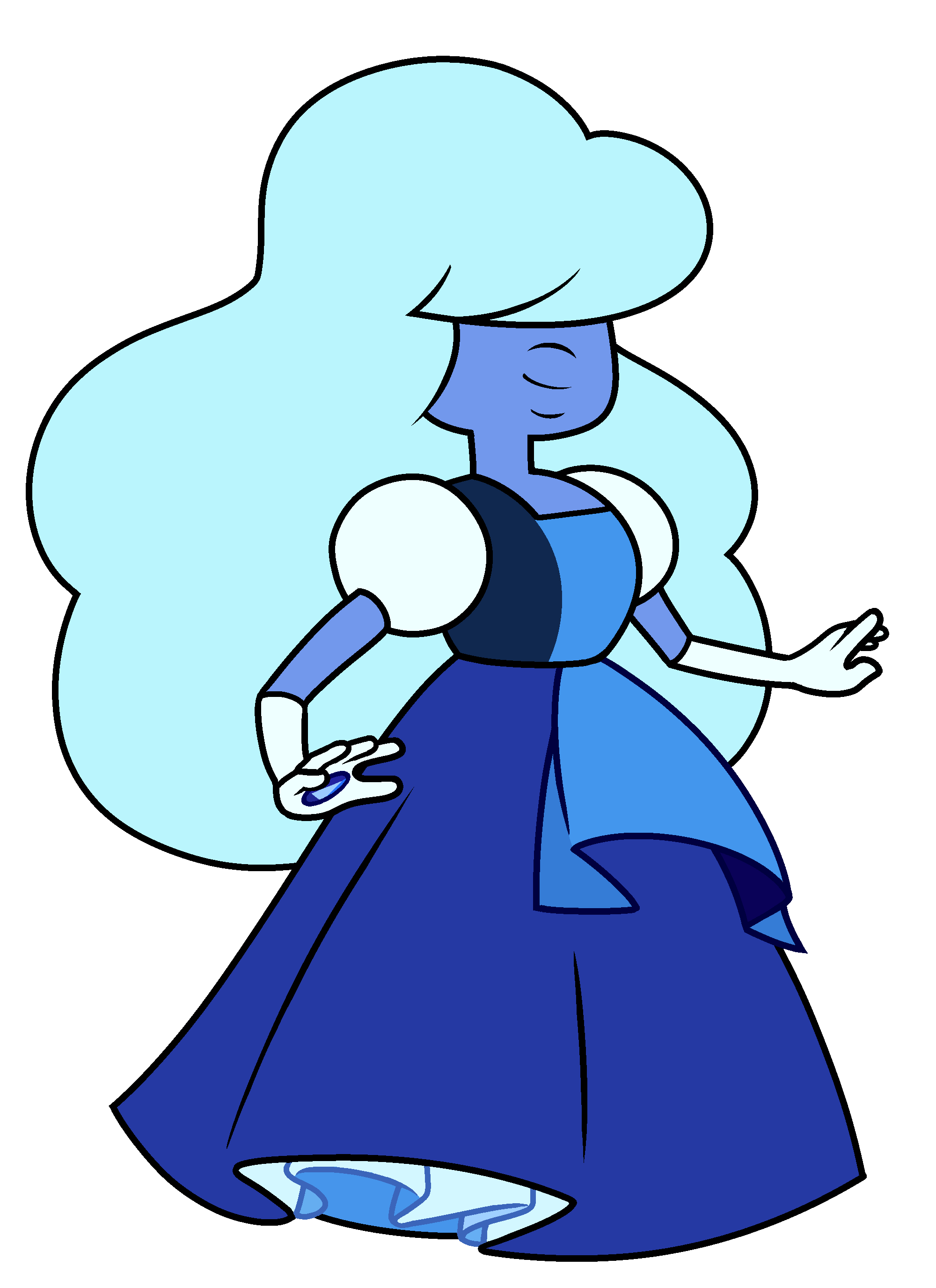 Sapphire steven universe wiki. Vector crystal gemstone clip royalty free library