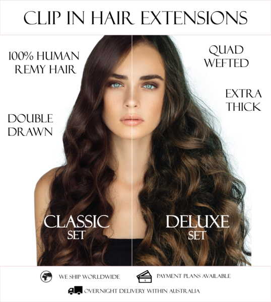 Long clip thick hair. Kiki in extensions length
