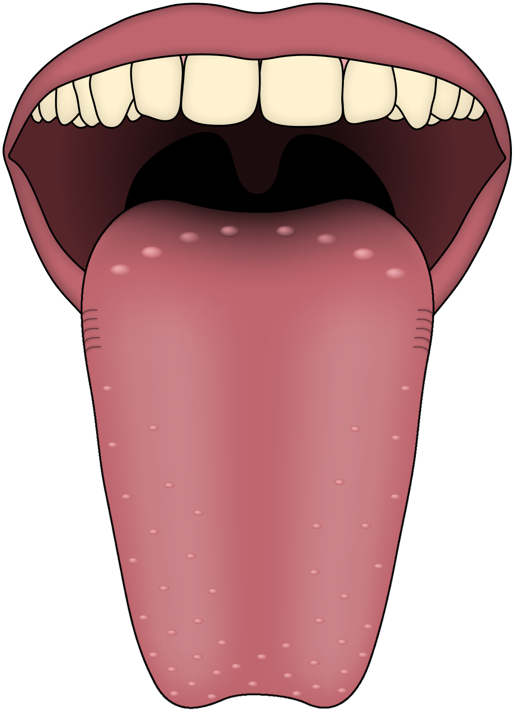 Long clip tooth. What causes a sore
