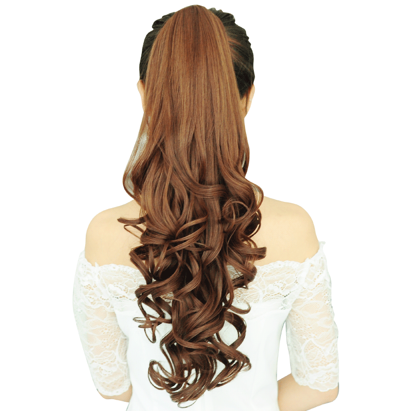 Clip bangs curly hair. Usd ponytail wig lady