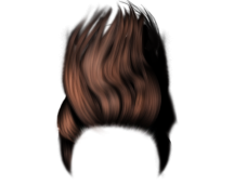Long male hair png. Vector clipart psd peoplepng