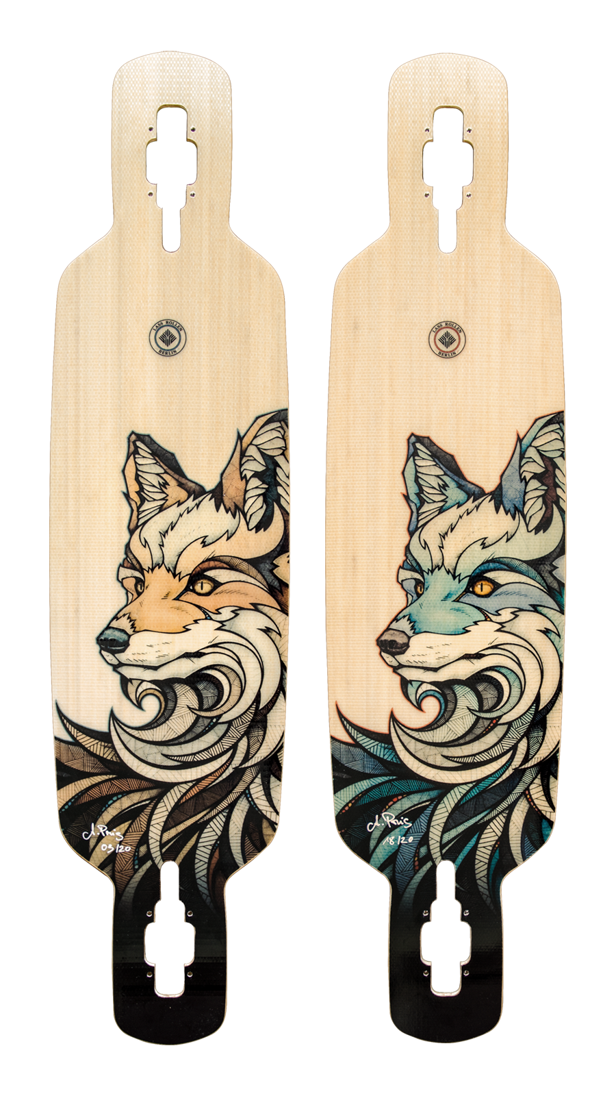 Lassrollen animals of berlin. Longboard drawing picture library download