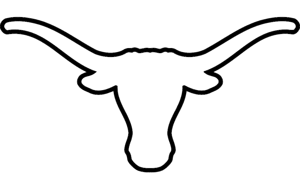 Longhorn drawing