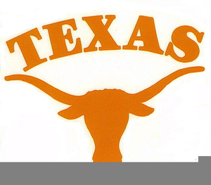 Texas clipart longhorn texas cattle. University of free images