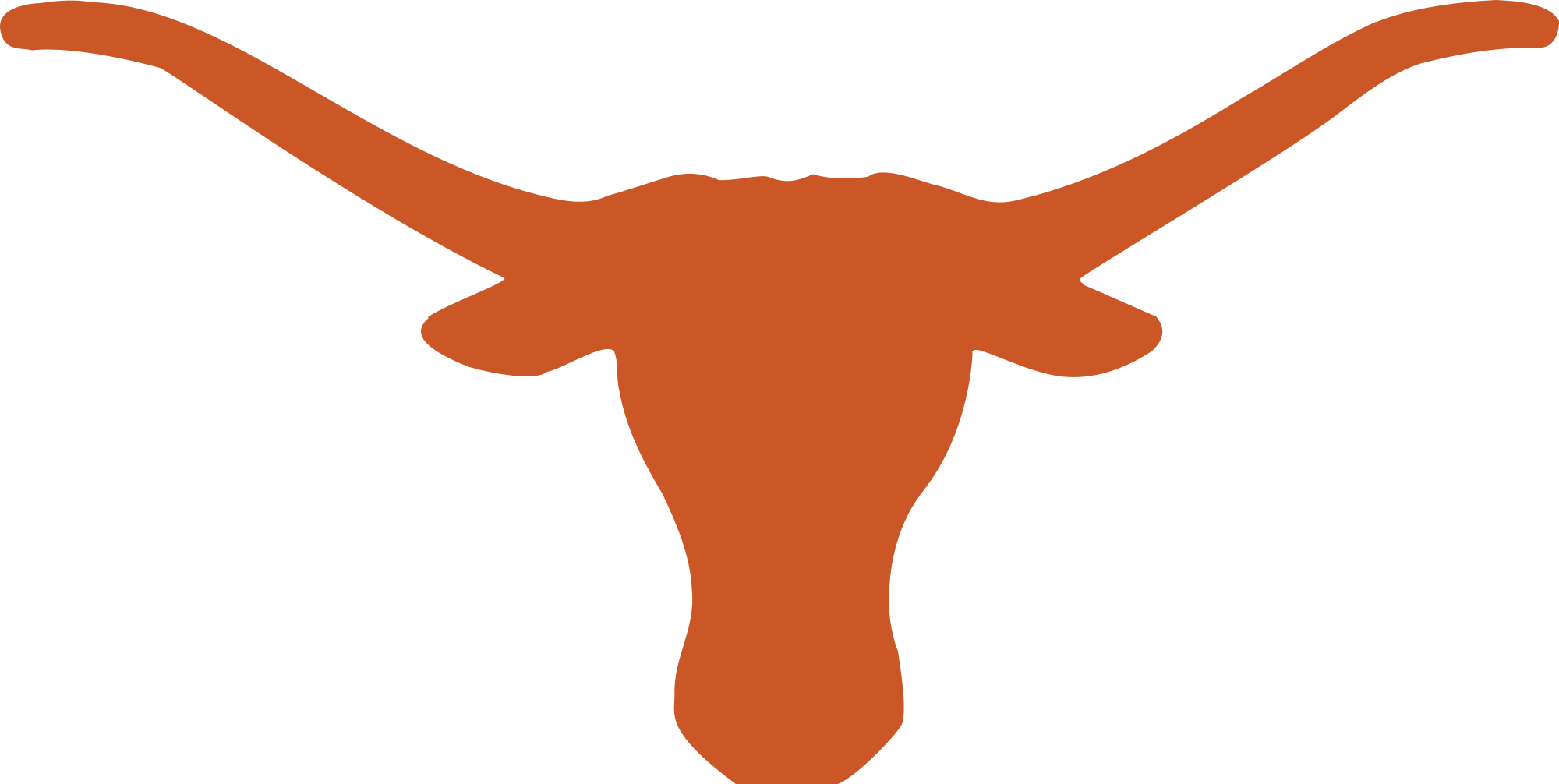 Longhorn svg coloring. The university of texas