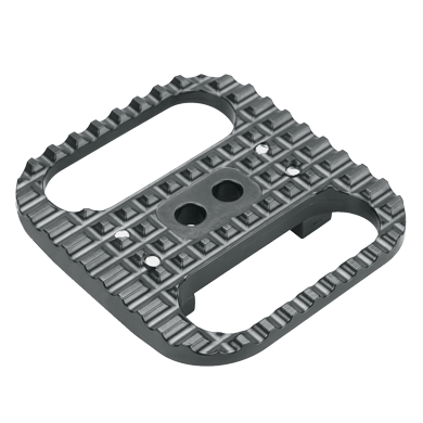 Look clip pedal. Road bike on to