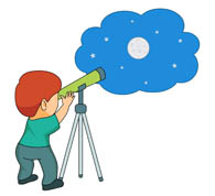 Search results for clip. Telescope clipart picture black and white