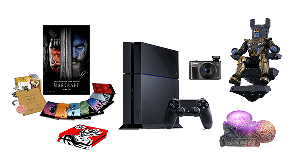 Loot crate items png. Win epic gamer geek