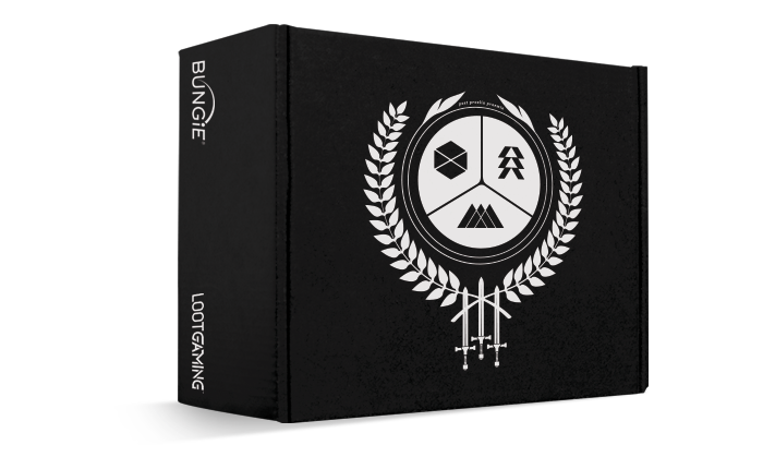 Loot crate box png image. Introduces destiny themed one