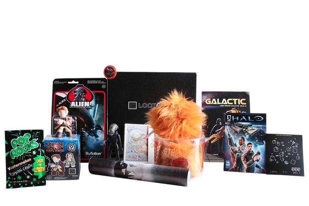 Loot crate items png. A monthly box of