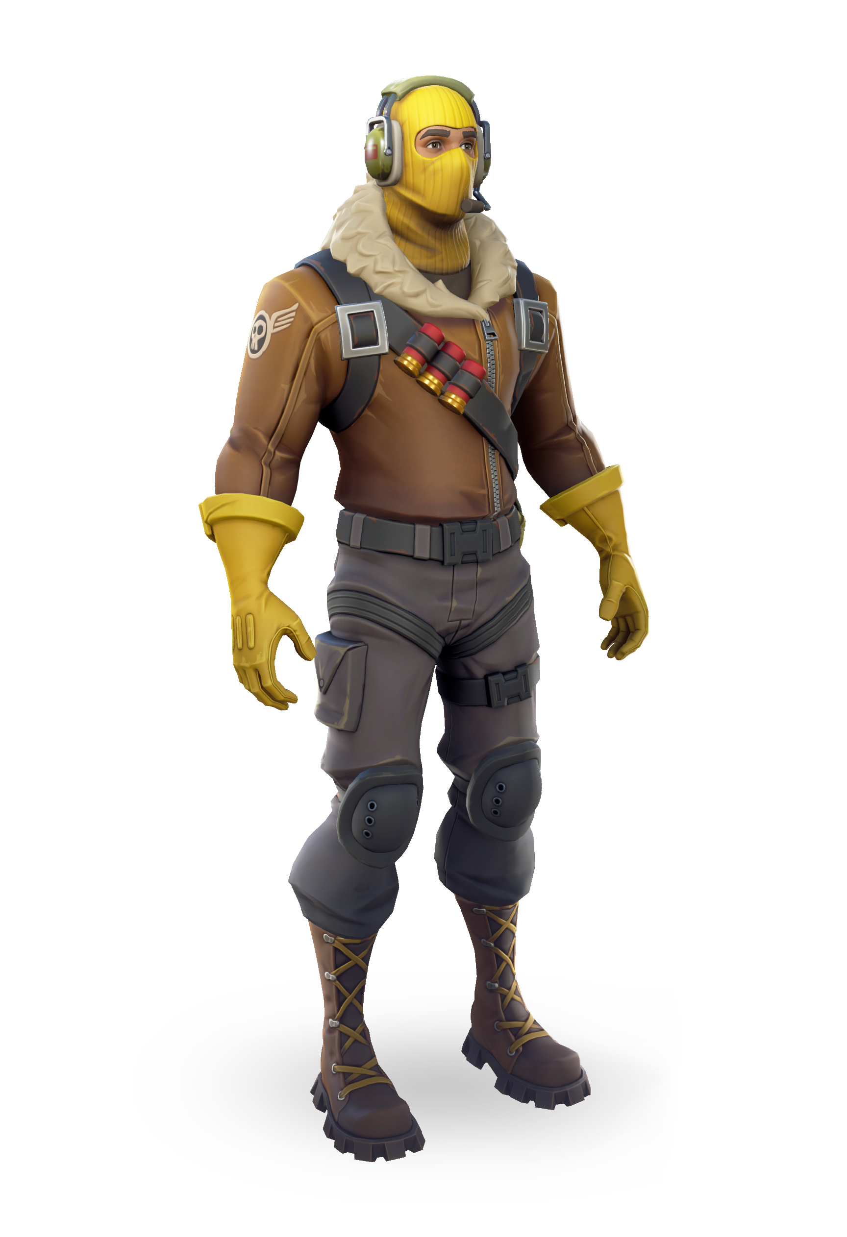 fortnite clipart silhouette