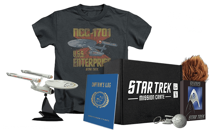 Loot crate items png. Star trek mission find