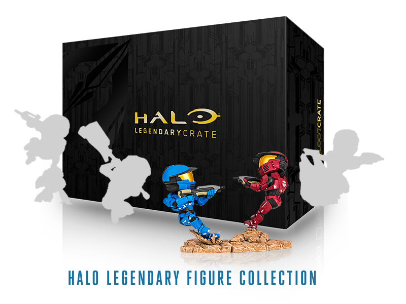 Loot crate items png. Halo available to order