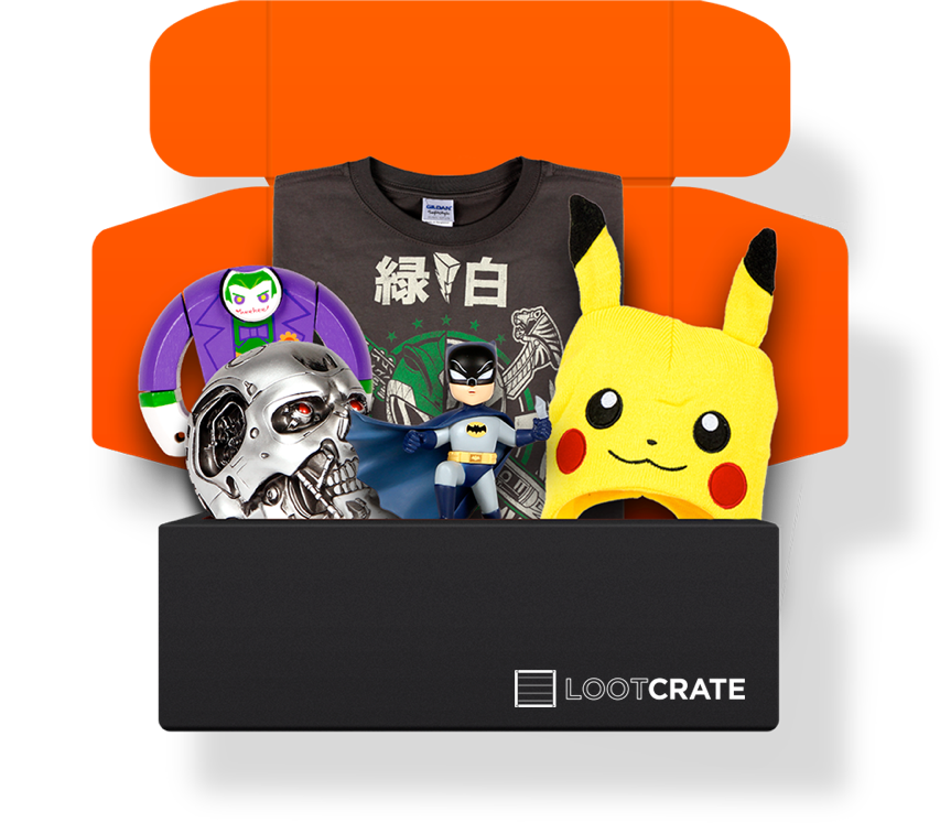Loot crate png. Best geek subscription boxes