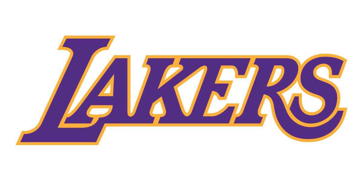 lakers drawing font