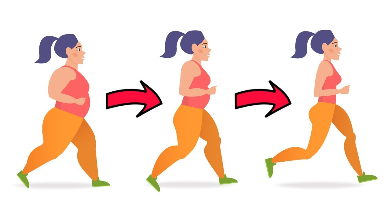 Loss clipart body weight. How much walking you