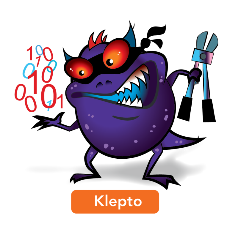 Loss clipart data loss. Foiling klepto the sticky