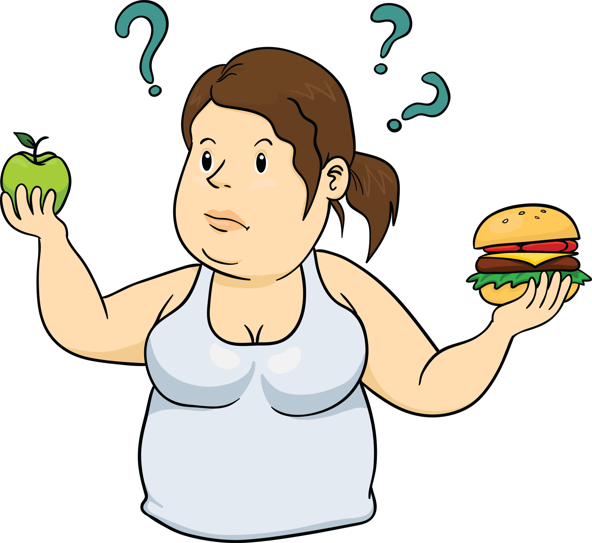 Lost vector person clipart. Collection of free dieted