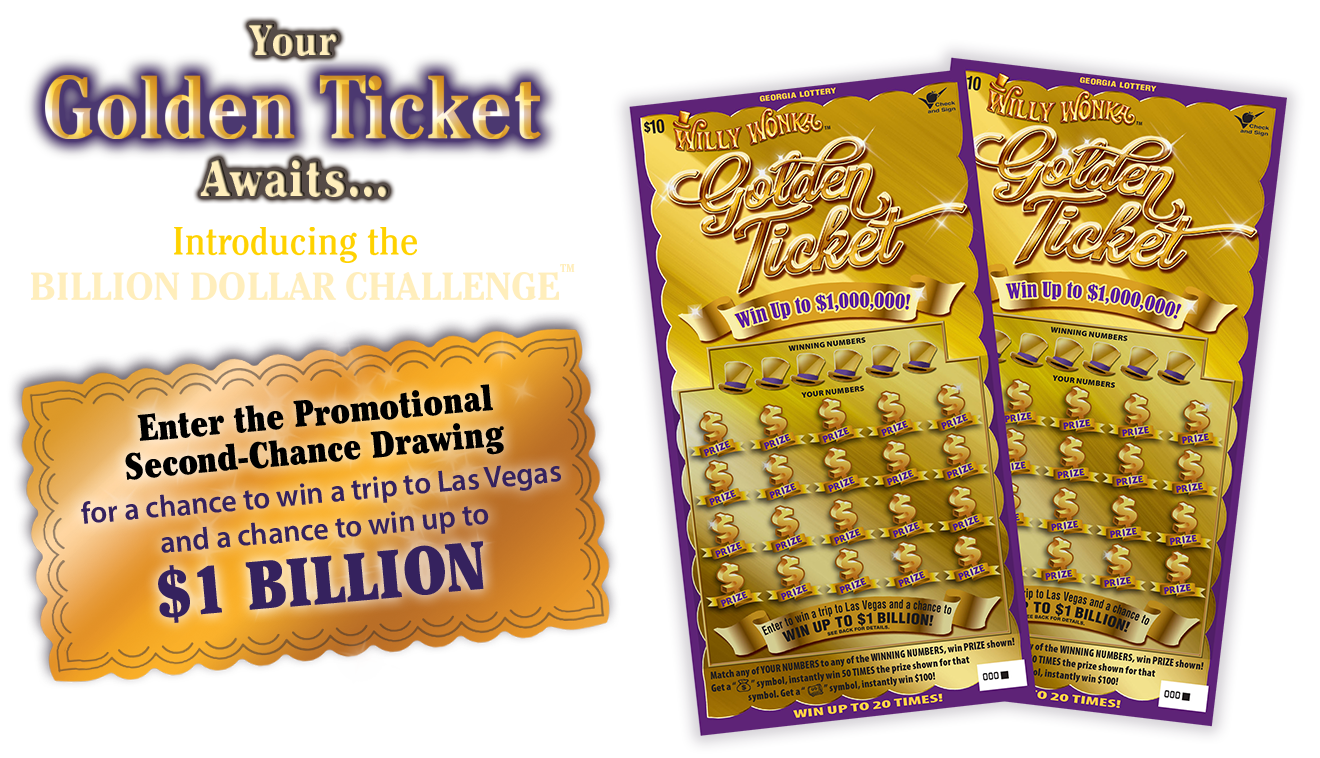 jackpot drawing golden ticket