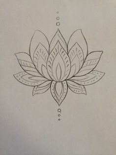 Lotus clipart easy draw. Simple drawing google search
