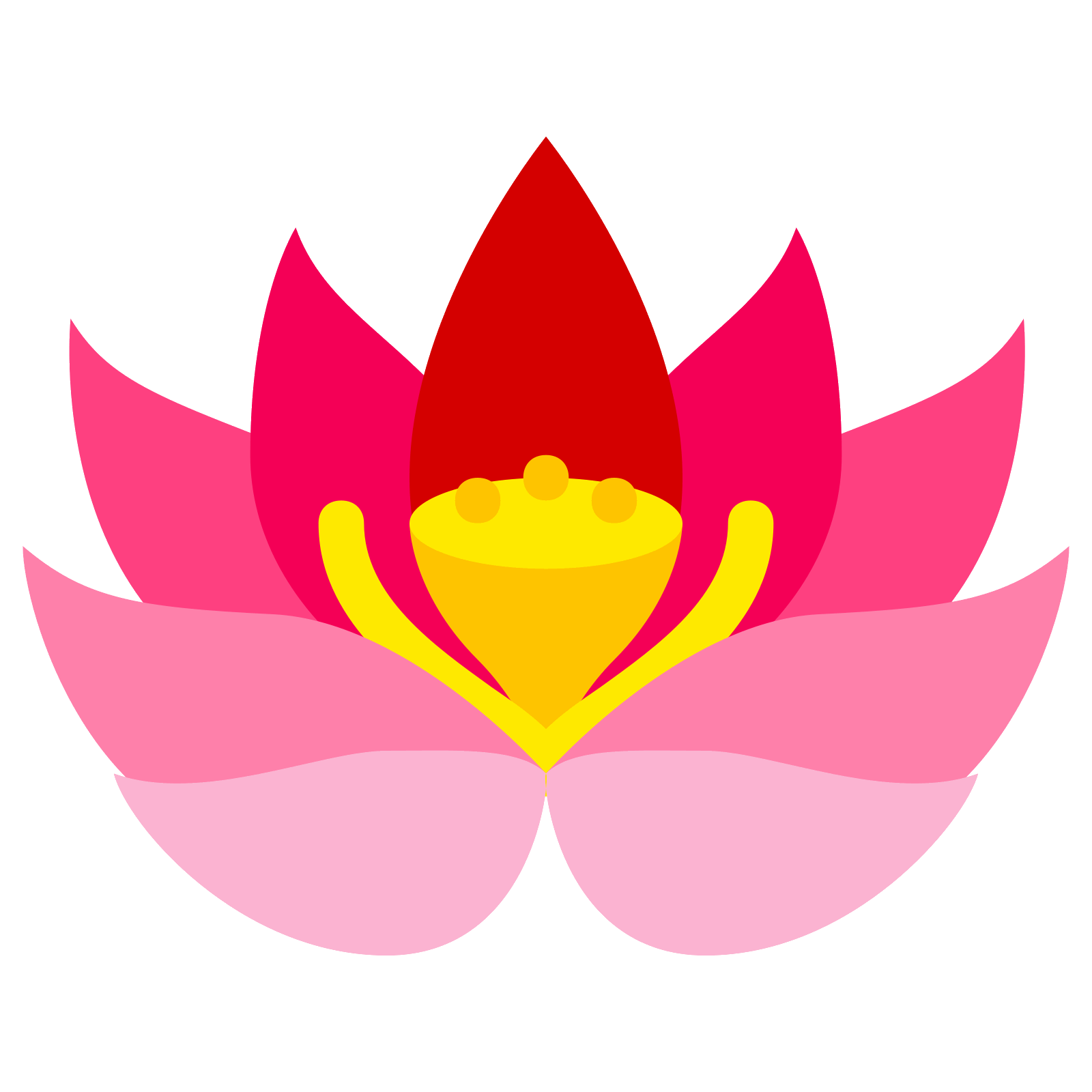 Lotus flower vector png. Icon free download and