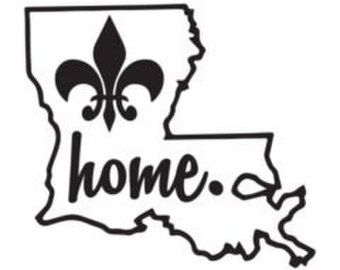 Louisiana clipart decal. Best vinyl images