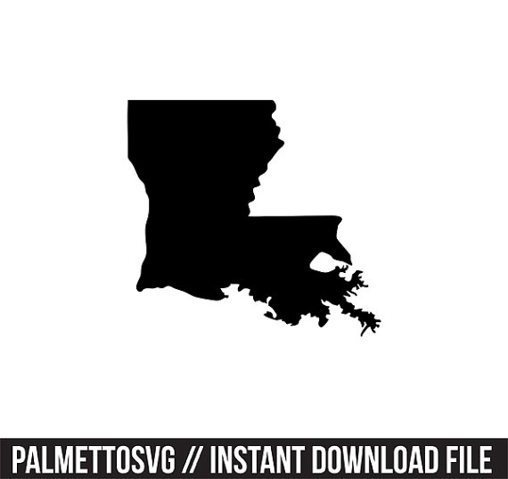 Dxf jpeg png file. Louisiana clipart svg graphic free download