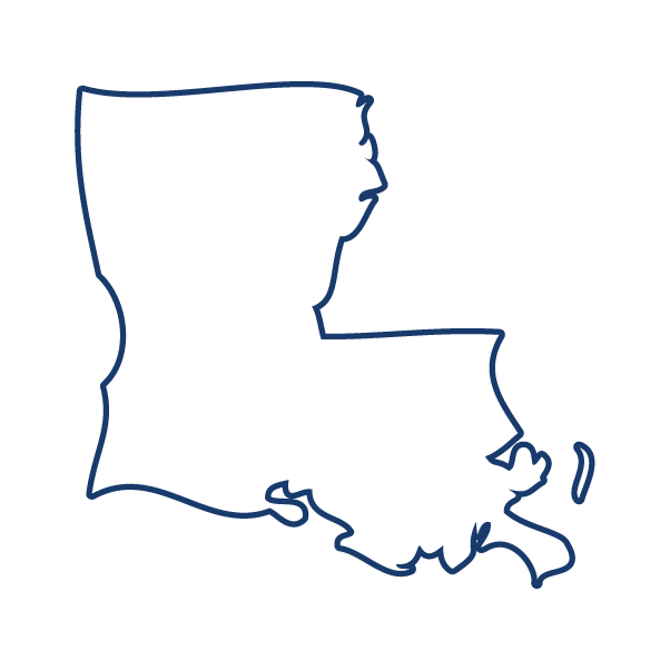 Louisiana drawing line. Outline png images in