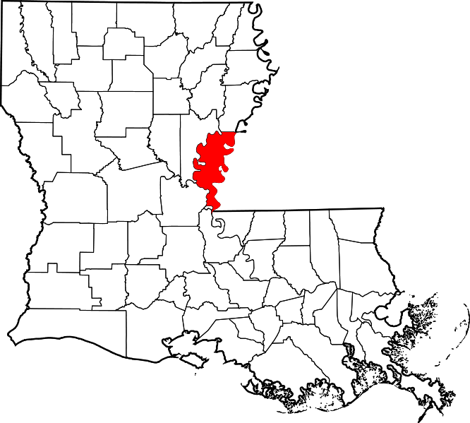 Louisiana svg outline. File map of highlighting