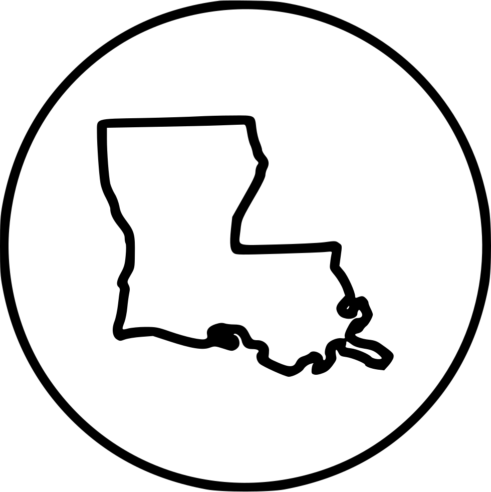 Louisiana svg script. Png icon free download
