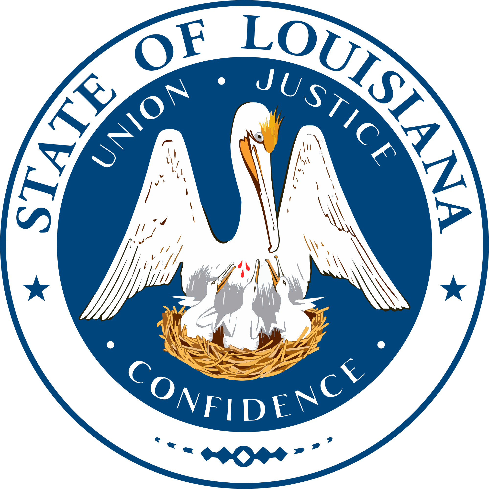 File seal of wikimedia. Louisiana svg vector svg transparent stock