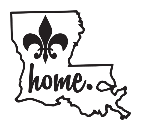 Louisiana svg vinyl. Home decal personalized gifts