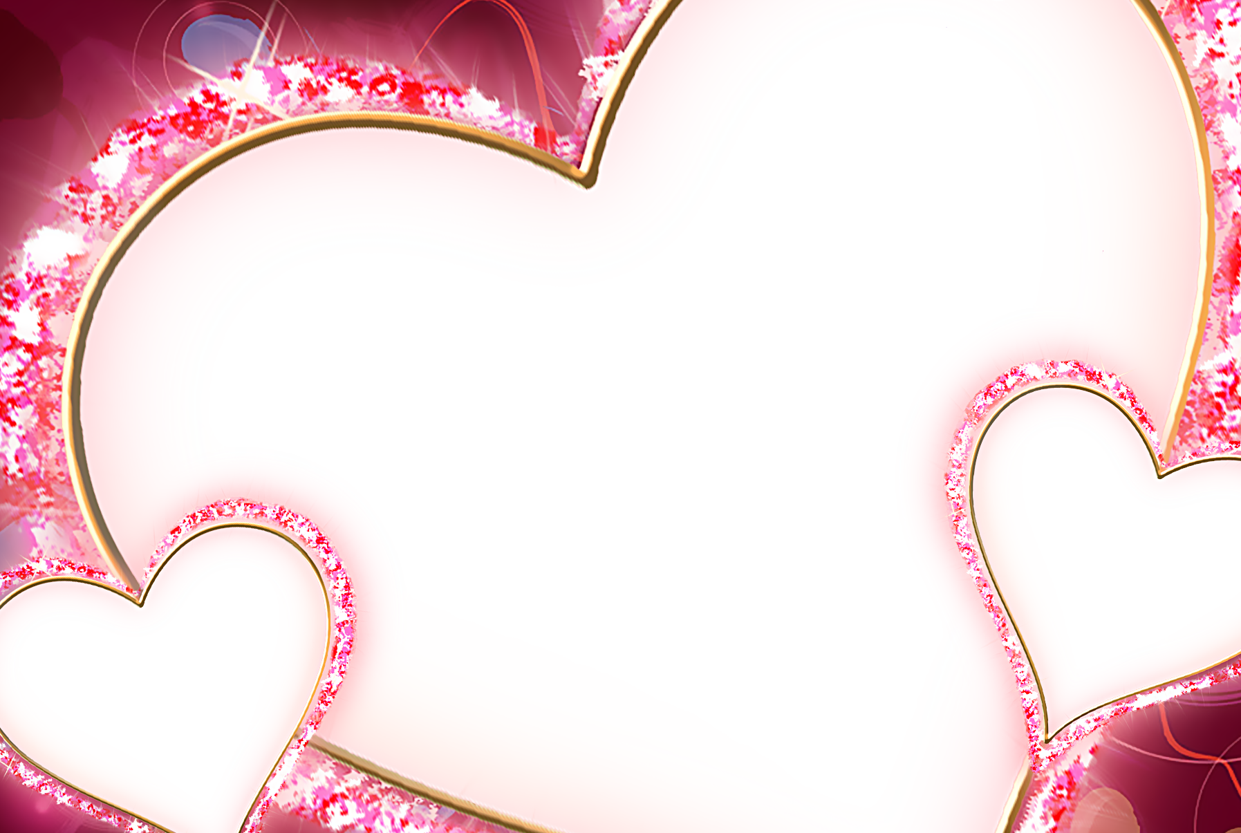 love photo frame png
