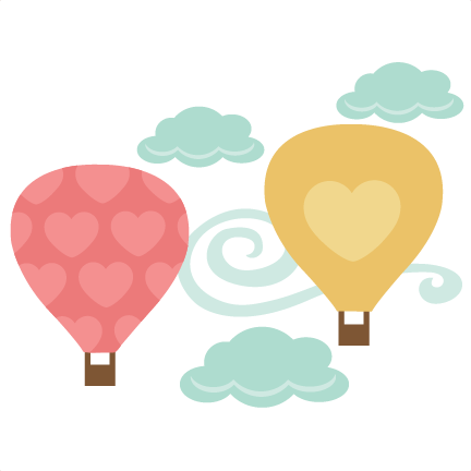 Love clipart hot air balloon. Heartshot balloons svg cutting
