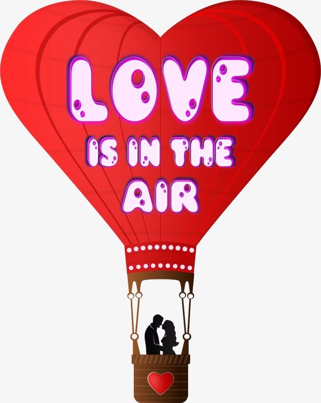 Love clipart hot air balloon. Float sweetheart png image