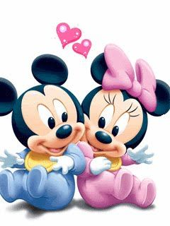Yay clipart mickey mouse. And minnie in love