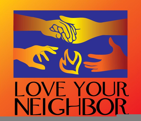 Love clipart neighbor. Your as yourself free