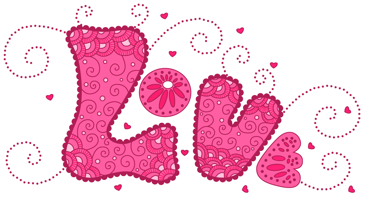 Pink Love PNG Clipart