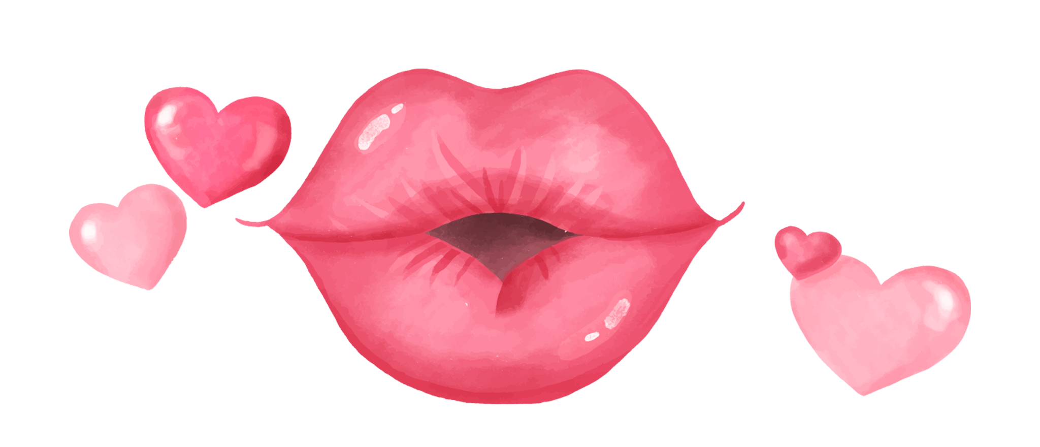 Valentine png watercolor