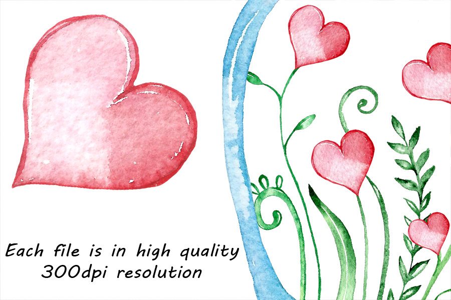 Love clipart watercolor. Bottles by passionpngcreation thehungryjpegcom