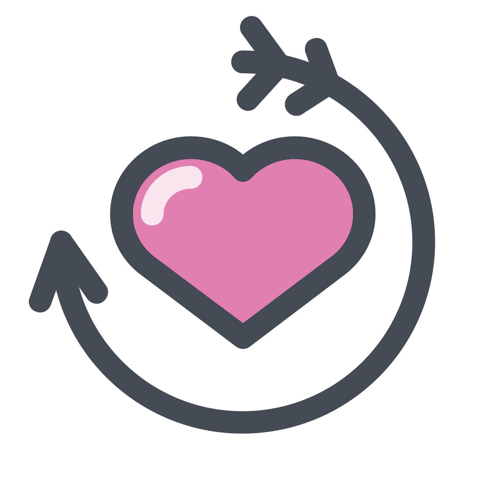Love icon png. Path free download and