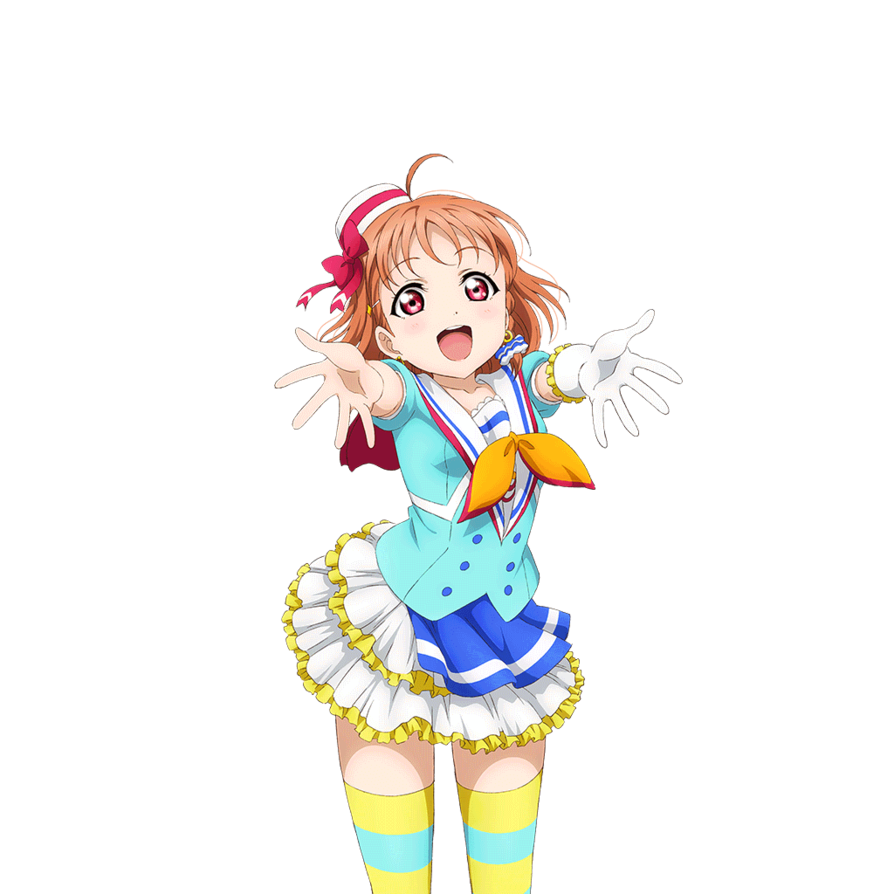 Love live sunshine png. By bie chan on