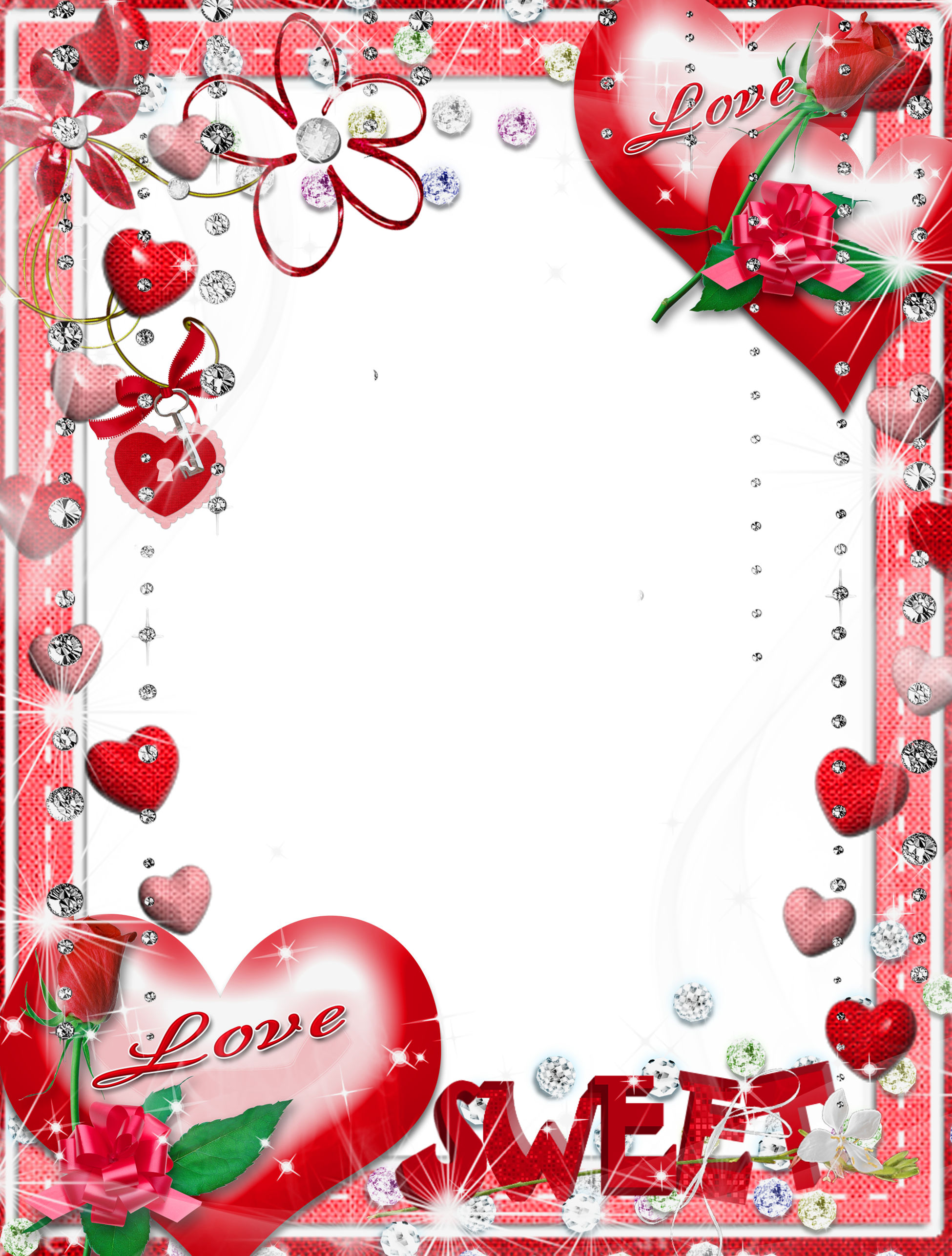 Love photo frame png. Sweet transparent gallery yopriceville