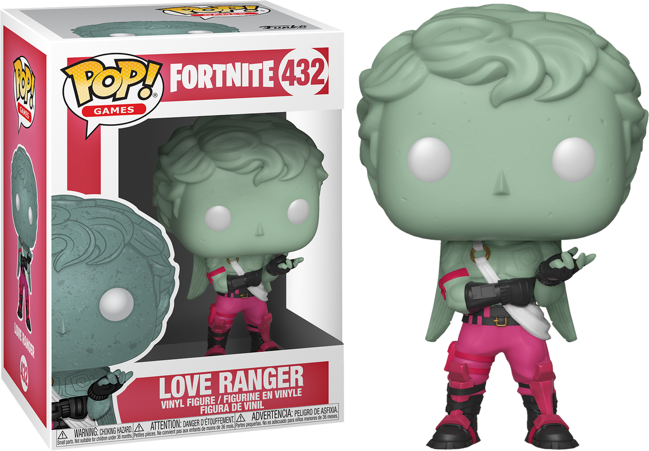 Love ranger png. Fortnite pop vinyl figure