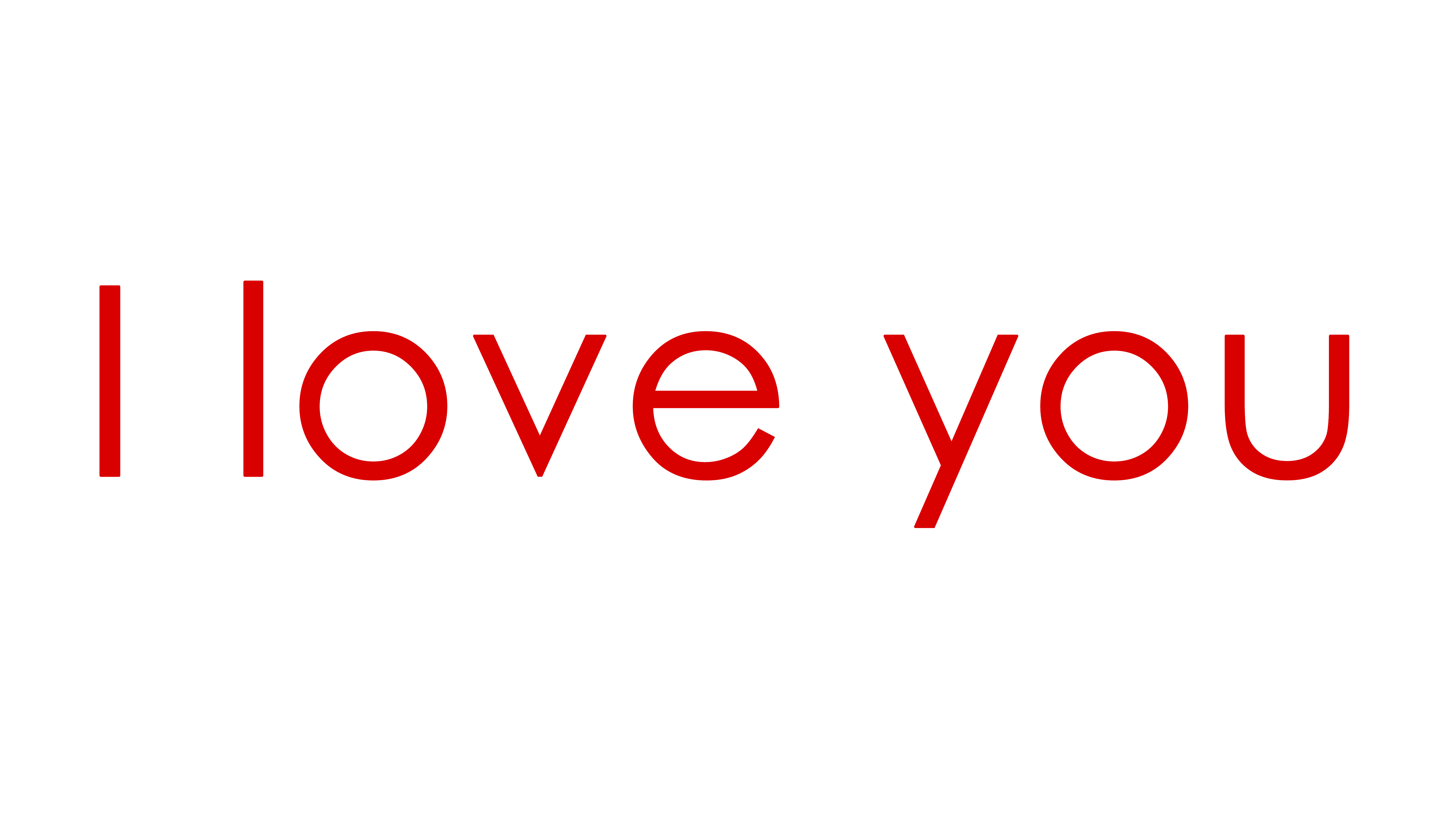 Love word png. I you words download