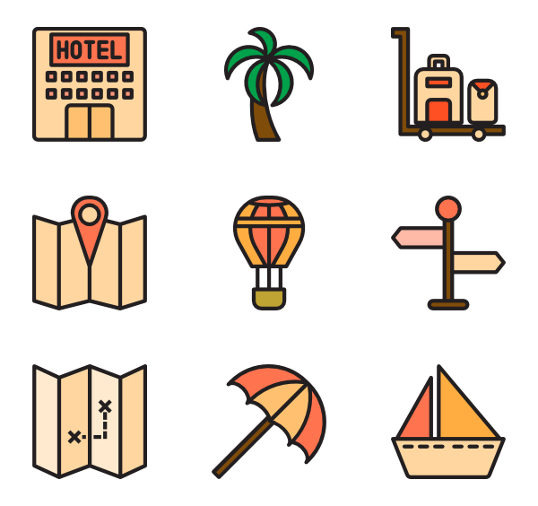 Lsl vector mode. Sailing icons free travel