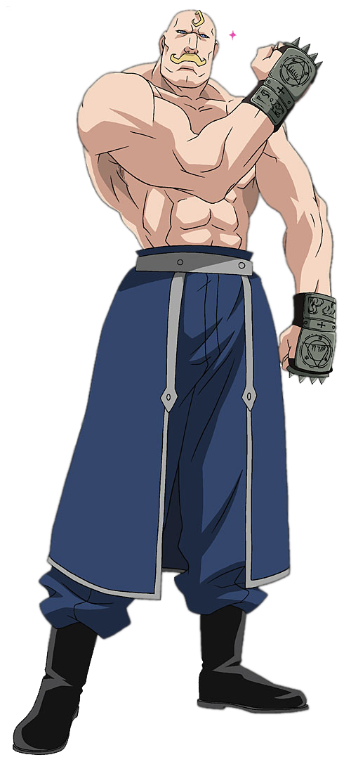 lt strong arms full metal alchemist png