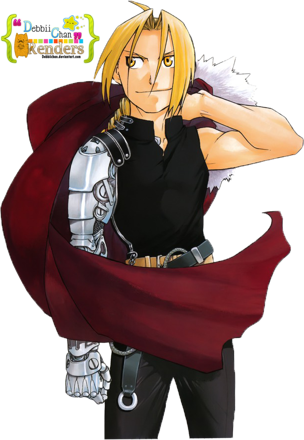 Lt strong arms full metal alchemist png. Edward elric render by